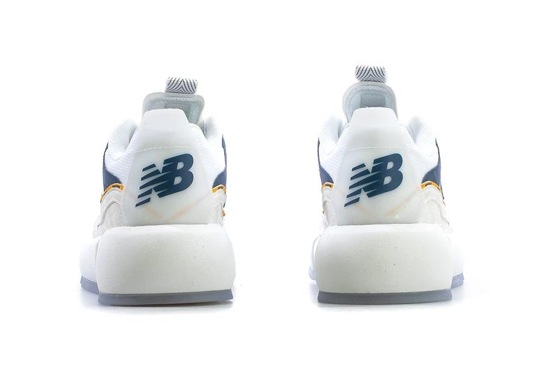 jaden smith new balance vision racer collaboration release date info white yellow navy