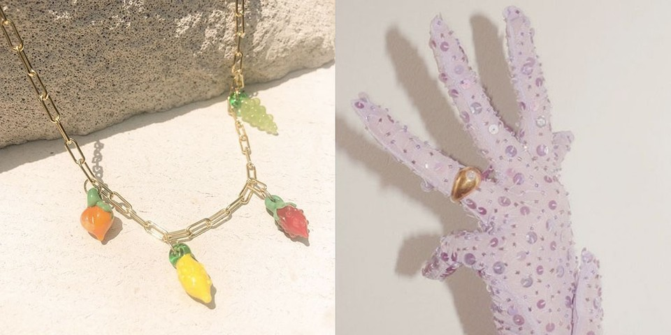 Get Dressed Up With Australian Jewelry Label Jean Riley's Fruity Accessories