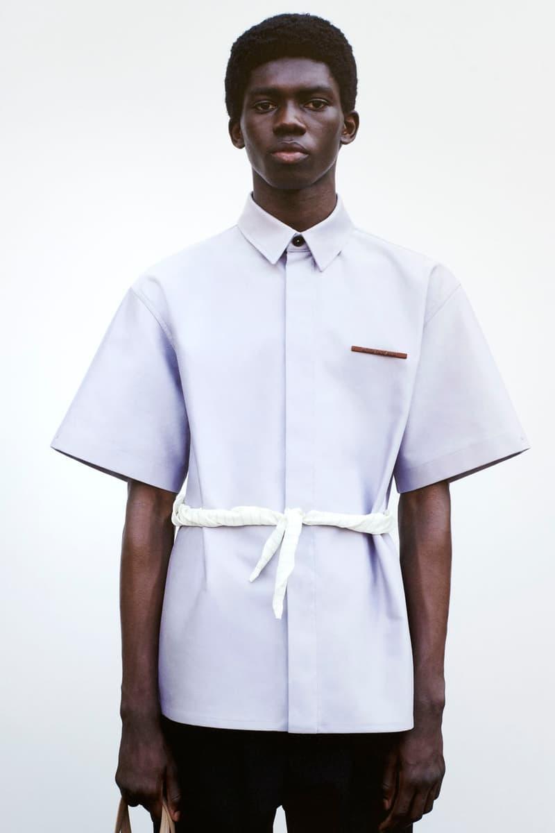 jil sander spring summer 2021 menswear collection lookbook minimal pastel luke lucie meier
