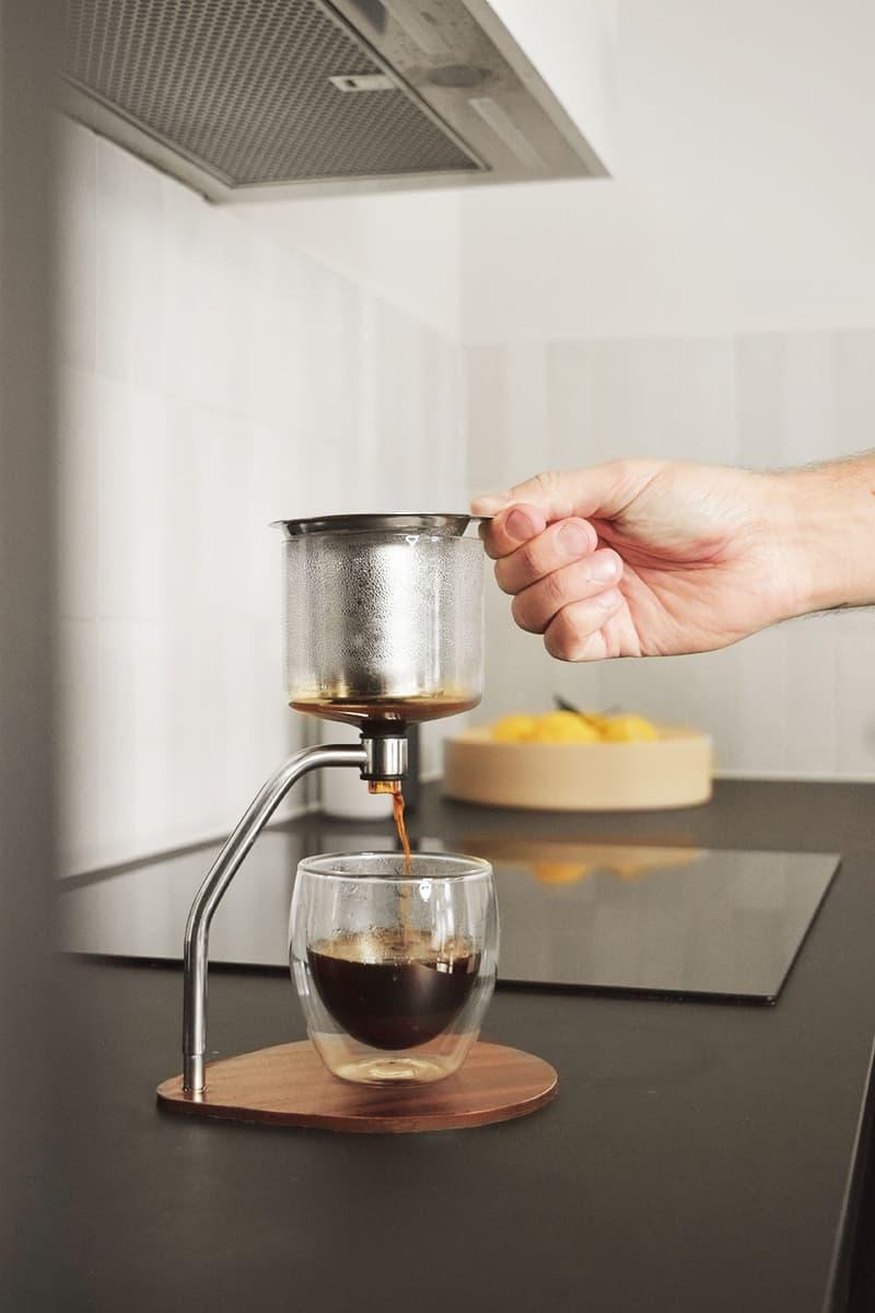 joy resolve manual immersion brewer coffee tea drinks beverage barista