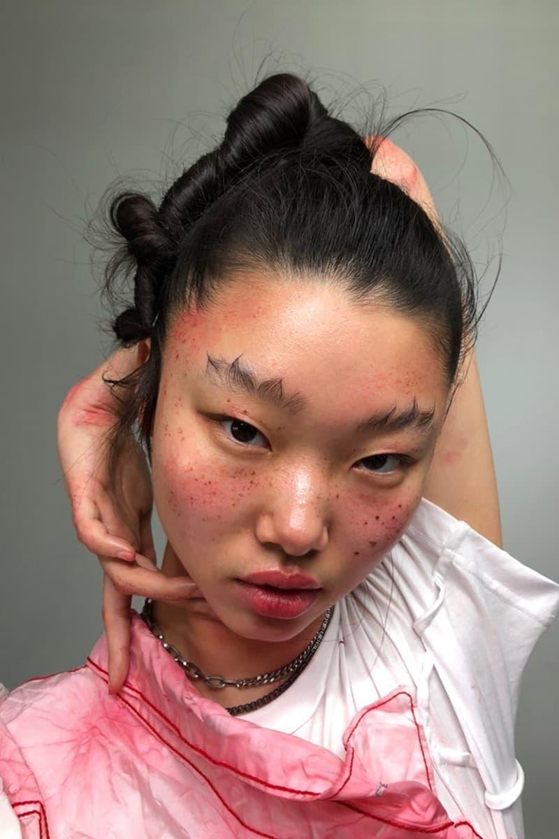 joynara won joyeon k-beauty fashion editorial shoot makeup korean model yoonyoung bae