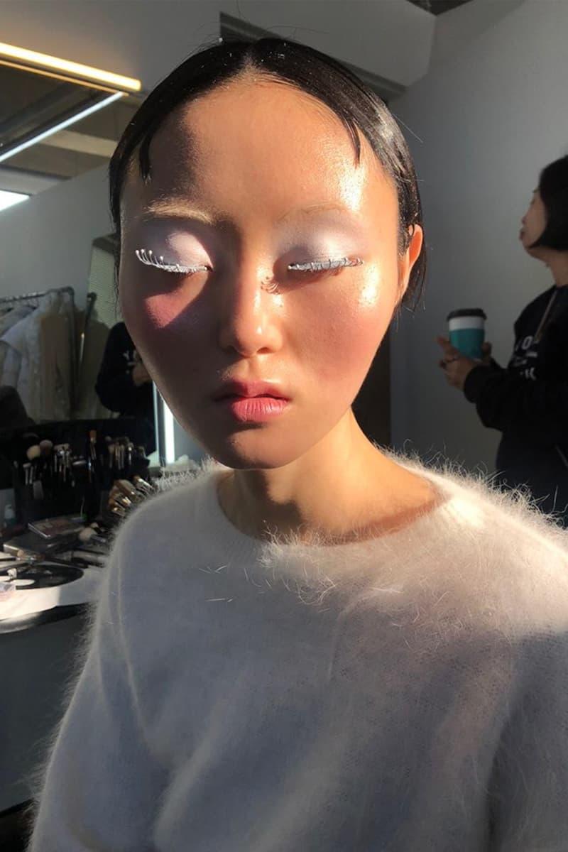 joynara won joyeon k-beauty fashion editorial shoot makeup korean model