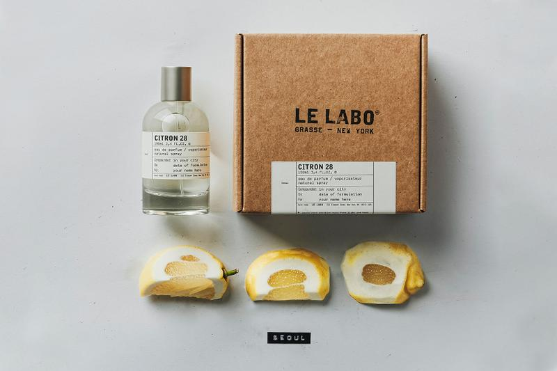 le labo seoul exclusive citron 28 perfume fragrance scent korea citrus lemon ginger jasmine