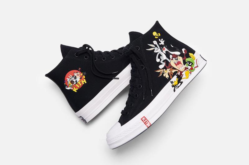 looney tunes kith bugs bunny converse chuck taylor 1970 high collaboration sneakers hoodies sweatpants