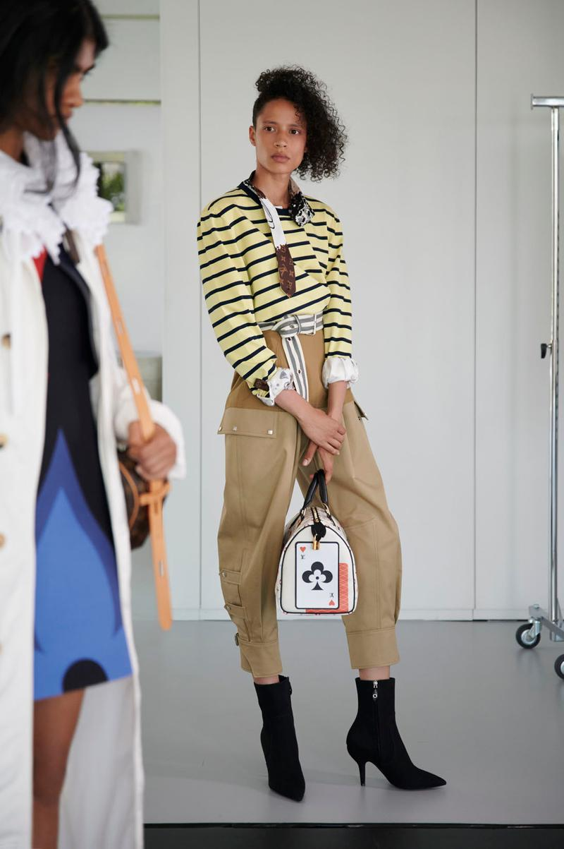 louis vuitton cruise 2021 game on womenswear collection monogram heart handbag archlight nicolas ghesquiere