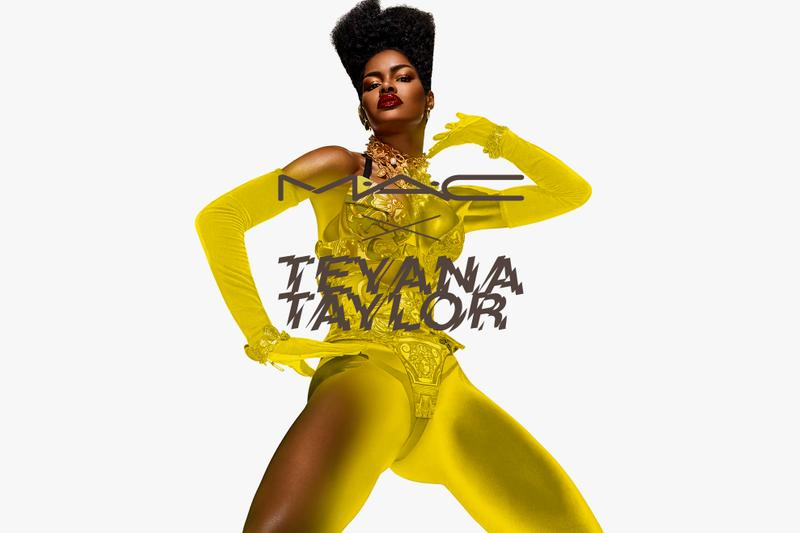 Teyana Taylor is The New Face of MAC Cosmetics Campaign Makeup Collection Release Reveal