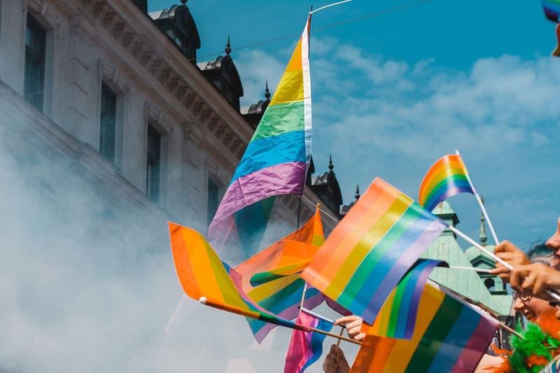 Pride Flag Rainbow Parade