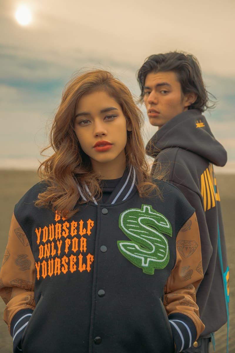 mindseeker x Billionaire Boys Club x ICECREAM Collaboration Capsule Collection Varsity Jacket