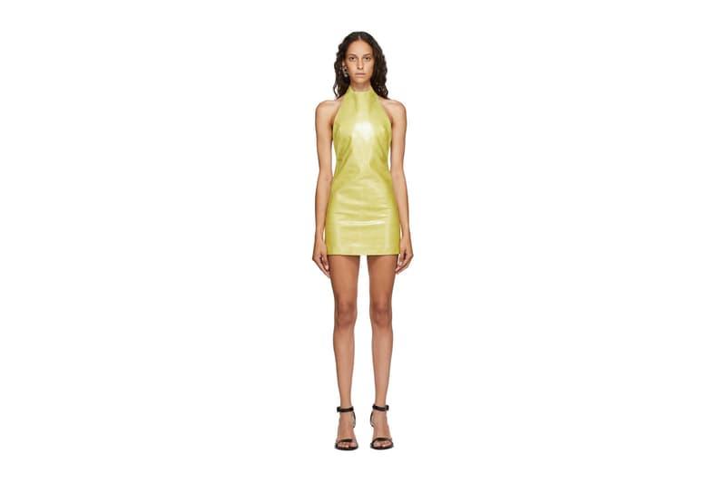 Mowalola Ogunlesi Spring/Summer 2020 Collection Coat Dress SSENSE
