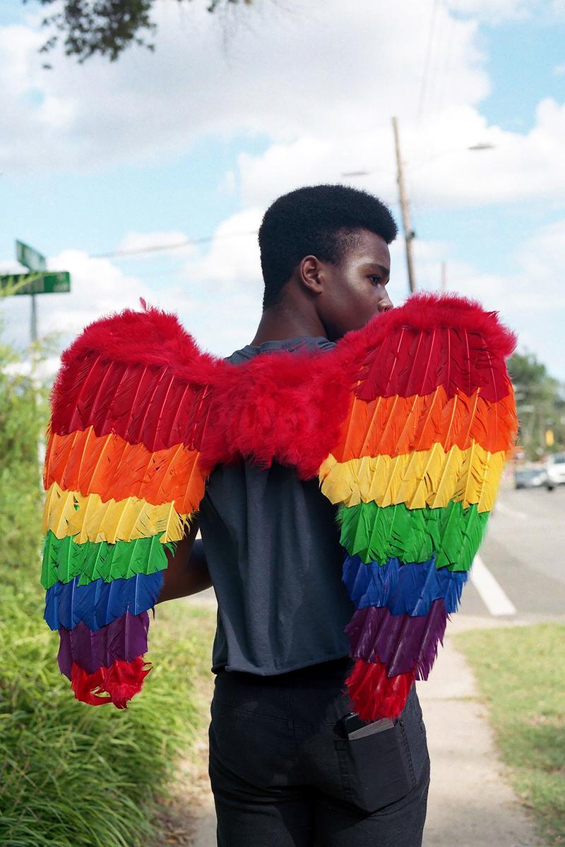 BLACK PRIDE Kennedi Carter Rainbow Wings