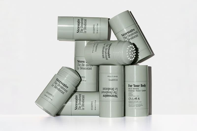 nécessaire the deodorant new scents eucalyptus sandalwood fragrance-free body care