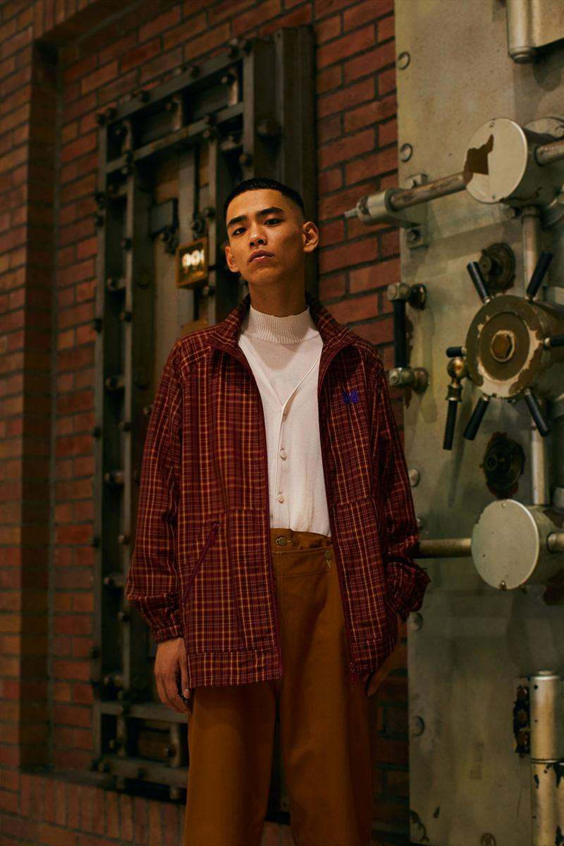 needles spring summer 2021 lookbook vintage blazers suits japanese streetwear brand