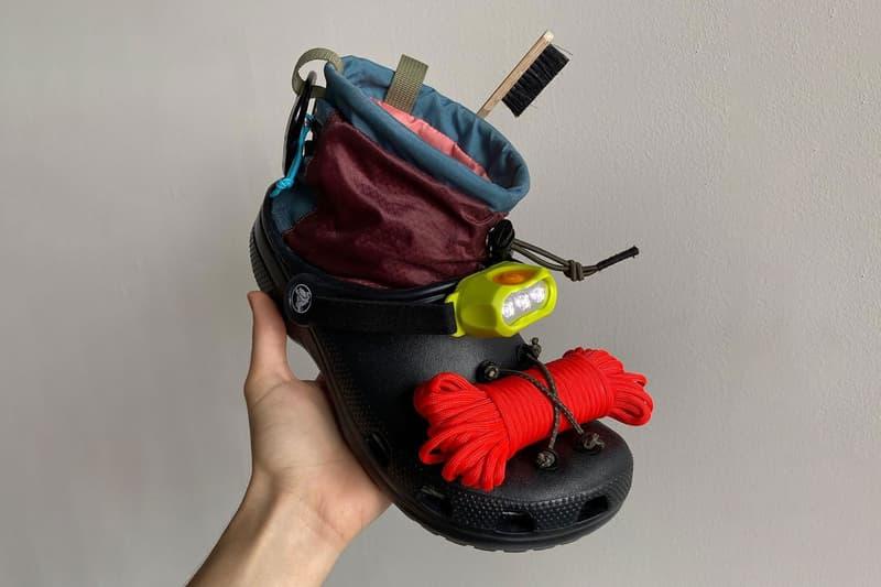 Nicole McLaughlin x Crocs Collaboration Shoe Footwear Prototype