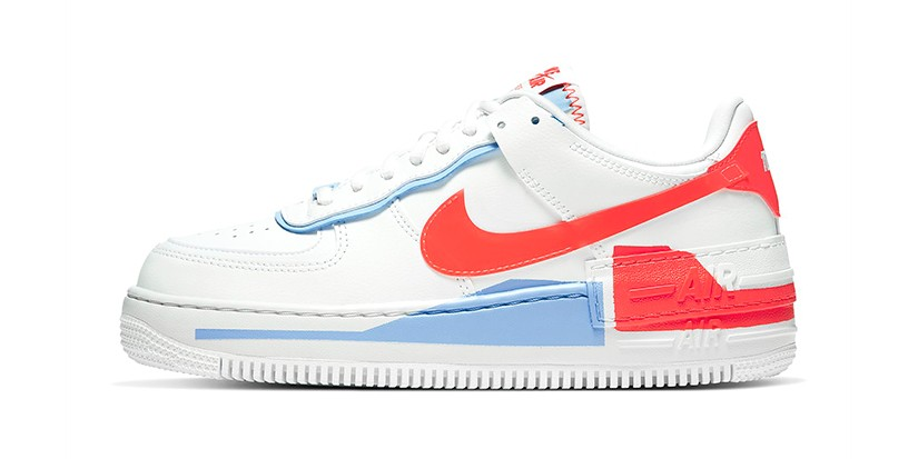 Nike Women Air Force 1 Shadow White Neon Orange Hypebae Nike's latest air force 1 shadow colorway might be the best one yet: air force 1 shadow white neon orange