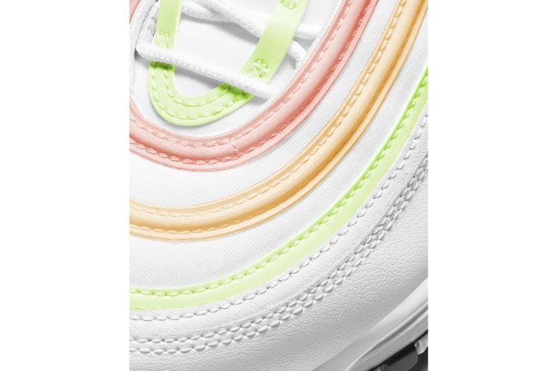 nike air max 97 essential am97 neon melon tint white barely volt atomic pink release where to buy