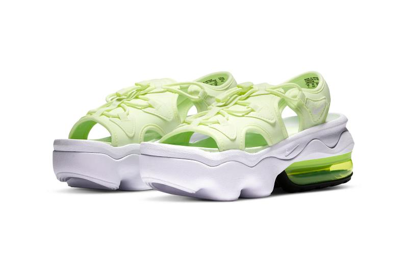 Nike Air Max Koko Sandals Green Barely Volt