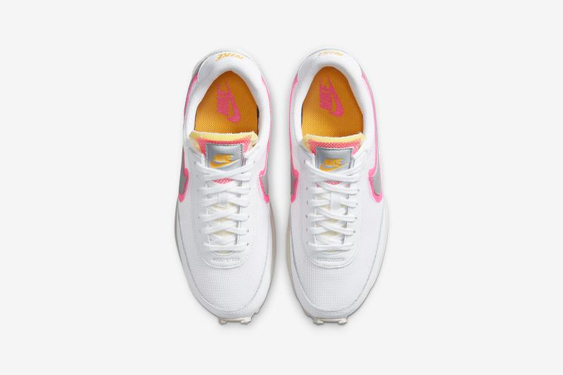nike blazer mid vintage 77 daybreak womens sneakers white yellow pink footwear shoes sneakerhead