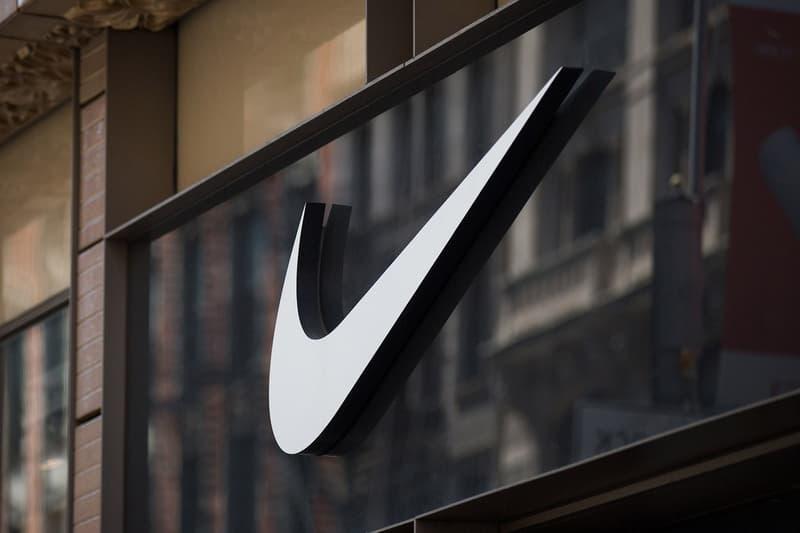 Nike Store Logo Exterior
