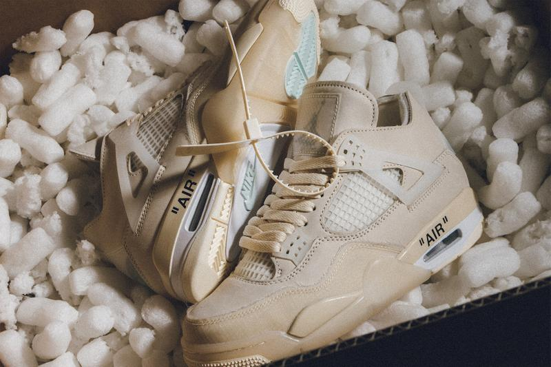 Condición previa encuentro Niño  Off-White™ x Air Jordan 4