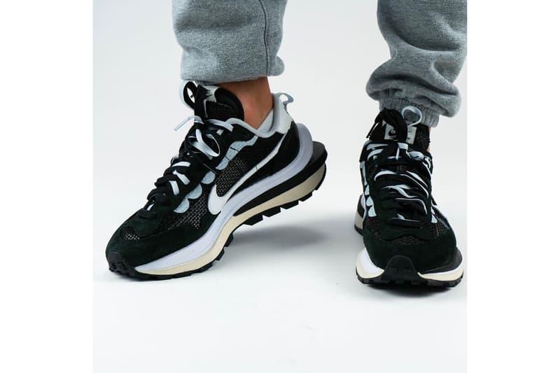 nike sacai chitose abe collaboration pegasus vaporfly sp sneakers black white gray shoes sneakerhead footwear