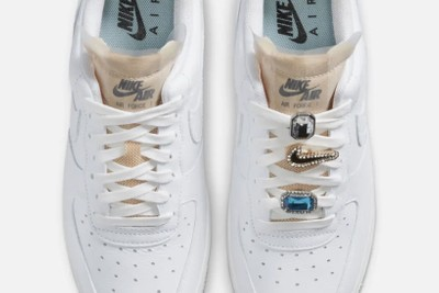 """Add Gems to Your Kicks With Nike's Air Force 1 '07 LX """"White Lace"""""""
