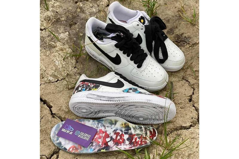 g-dragon peaceminusone nike air force 1 low para-noise new second collaboration rumors