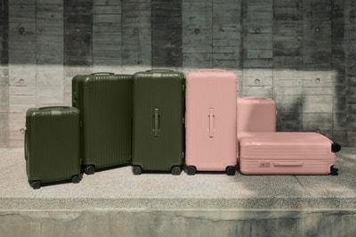 """RIMOWA Introduces New """"Desert Rose"""" & """"Cactus"""" Colorways for Essential Suitcases"""