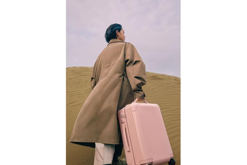 rimowa essential suitcases phone cases desert rose cactus new colorways