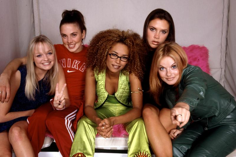 Spice Girls Members Group Portrait