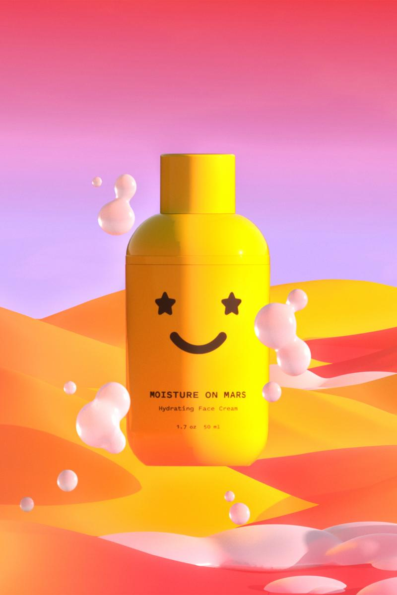 starface moisture on mars hydrating face cream moisturizer skincare