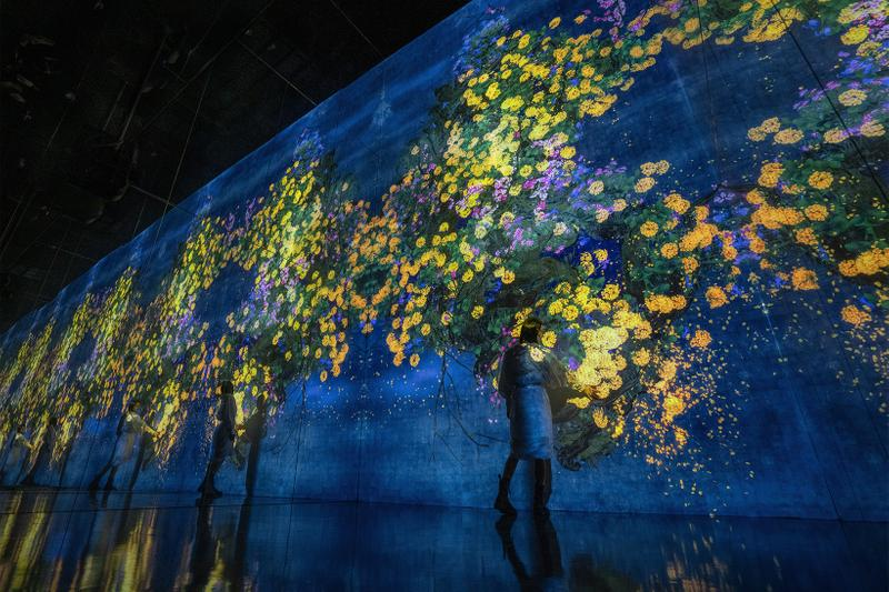 teamlab life seoul south korea dongdaemun design plaza digital art exhibition installation