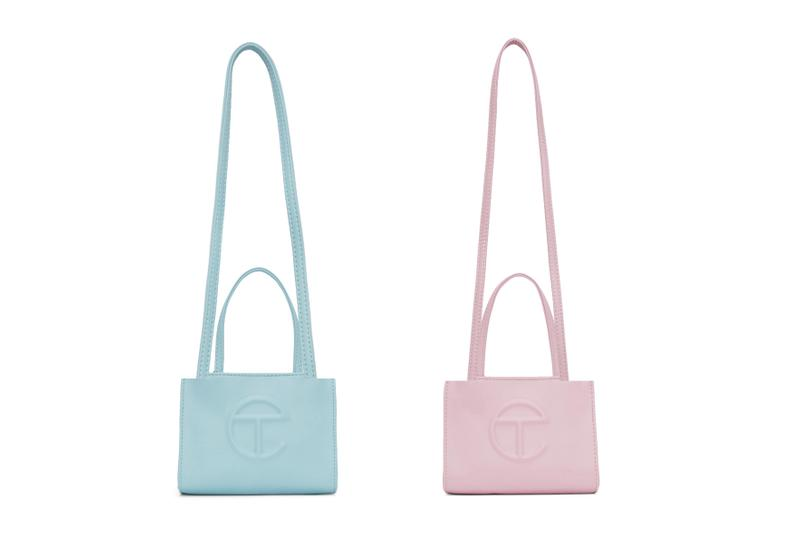 Telfar Shopping Bag Blue Pink