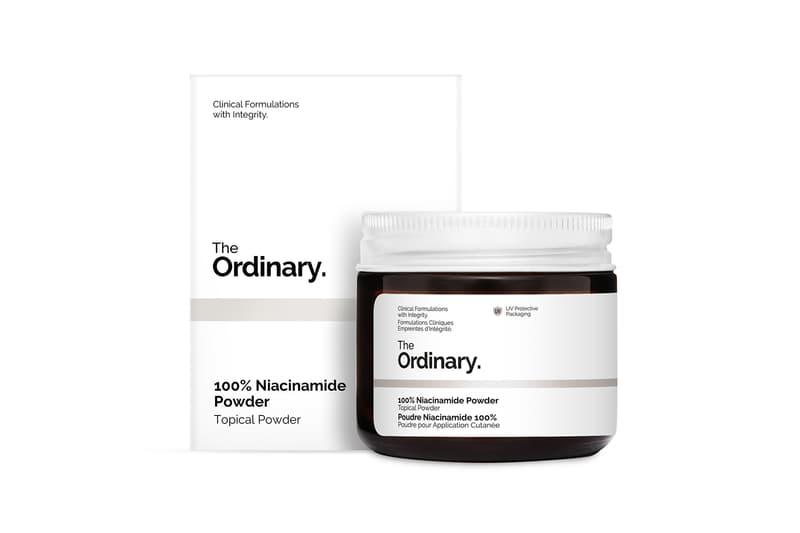 the ordinary deciem 100 niacinamide powder skincare vegan vitamin b3 beauty