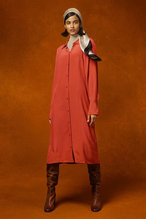 UNIQLO x Hana Tajima Fall/Winter 2020 Collection Collaboration Lookbook Modest Fashion