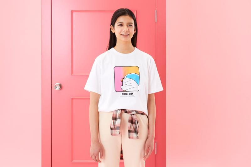 doraemon uniqlo ut collaboration stand by me animation movie t-shirts release date