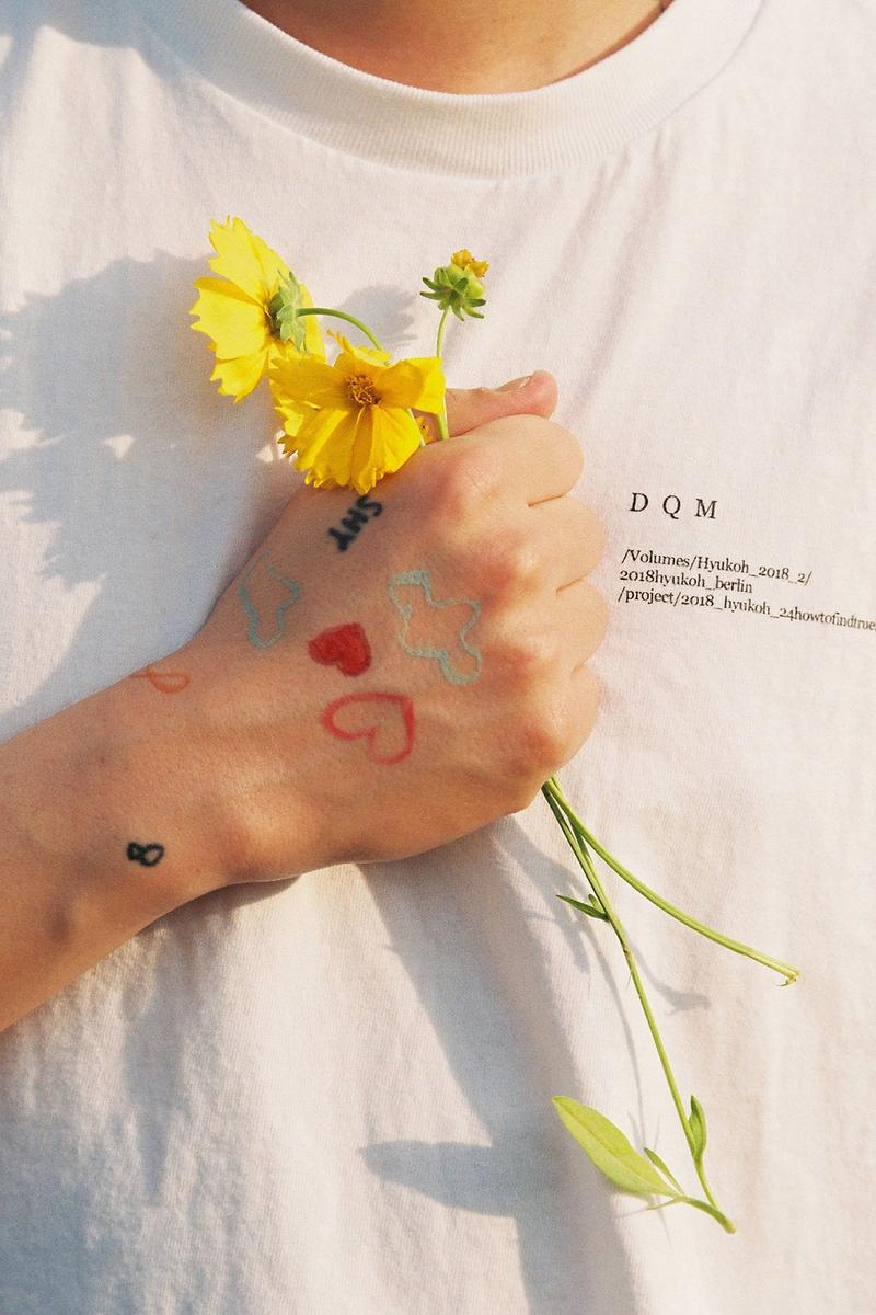 hyukoh uz eye opening liner summer campaign tattoos inclusivity men's beauty