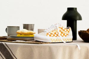 Picture of Maha Amsterdam x Vans' OG Style 36 LX Boasts Shades of Summer Orange and Pastel Yellow