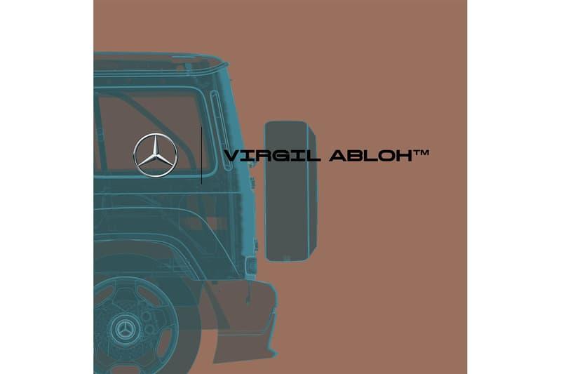 mercedes benz virgil abloh g-class gorden wagener project geländewagen auction launch art