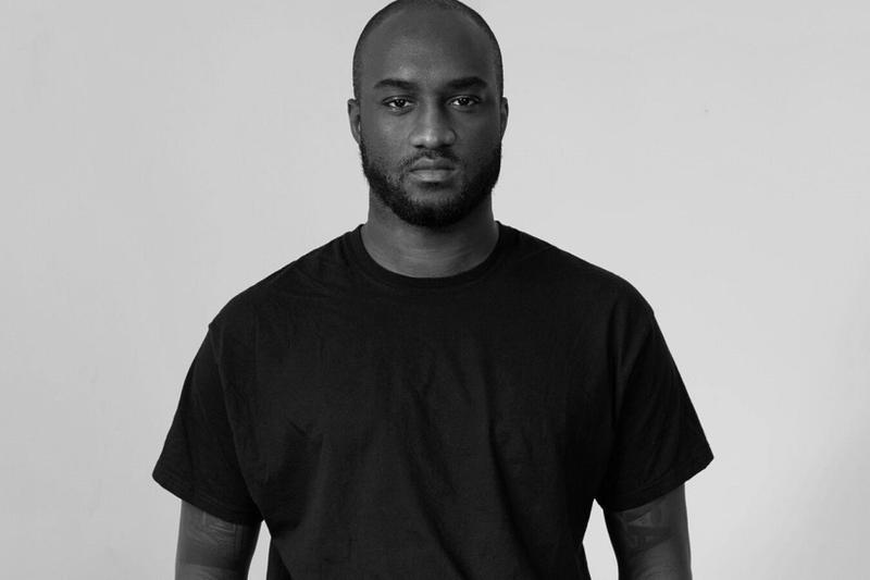 virgil abloh post modern scholarship fund black fashion students creatives evian farfetch louis vuitton new guards group