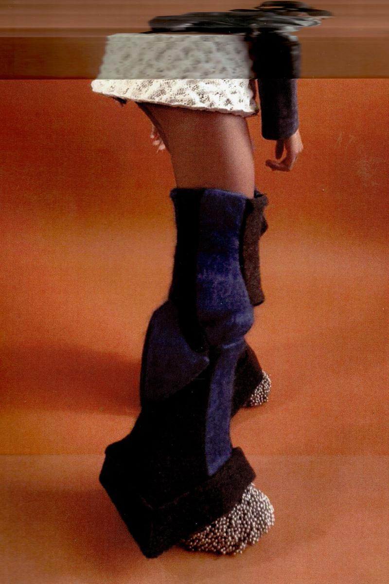 yasmina atta designer interview craft knit skirt