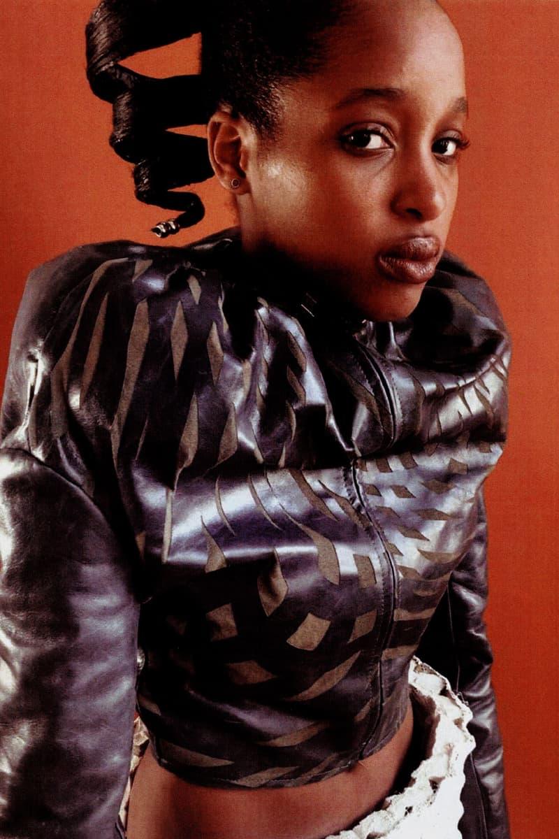 yasmina atta designer interview leather jacket