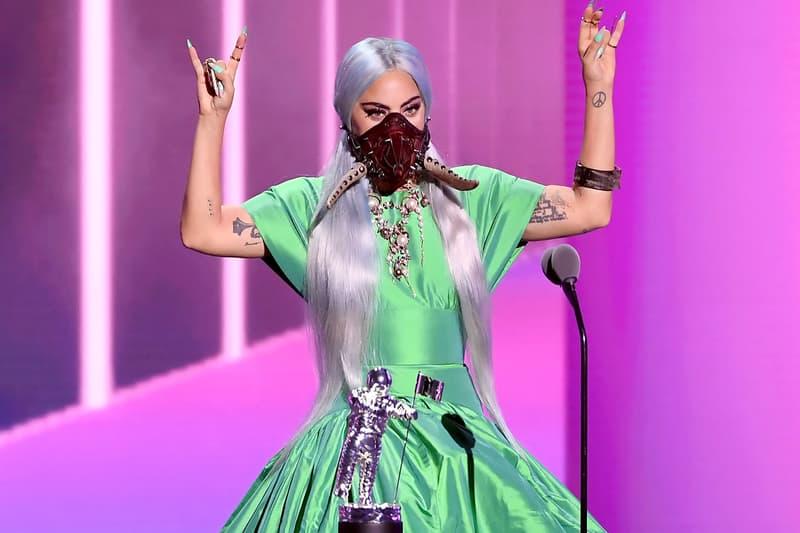 2020 mtv vmas red carpet best looks lady gaga mask