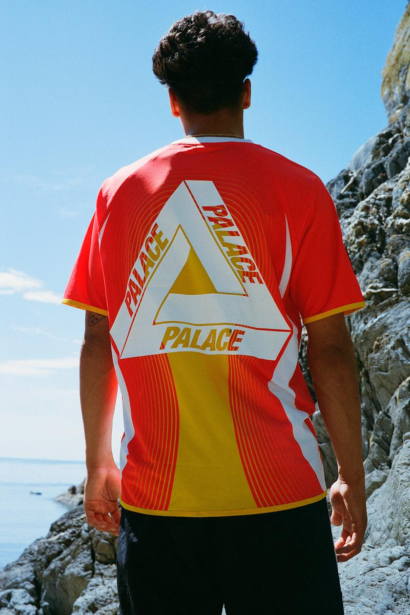 adidas palace sunpal collaboration full lookbook caps goggles t-shirts shorts water shoes release date