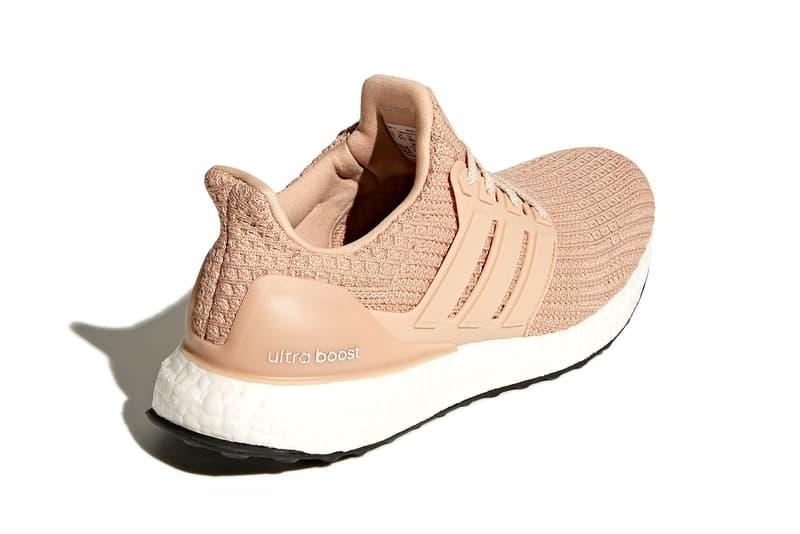 adidas ultraboost womens sneakers nude pink white colorway shoes footwear sneakerhead
