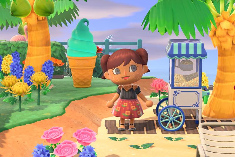 Animal Crossing New Horizons Character Avatar Skin Inclusive Acne Vitiligo Prosthesis Gillette Venus