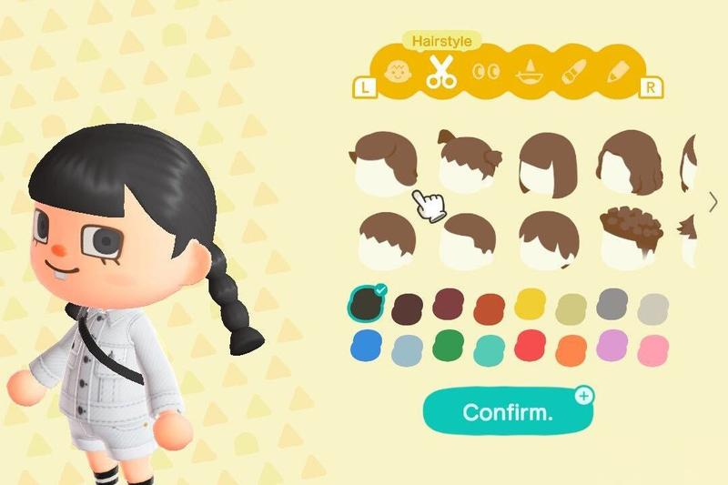 animal crossing inclusive hairstyles petition diversity inclusivity change.org nintendo acnh new horizons