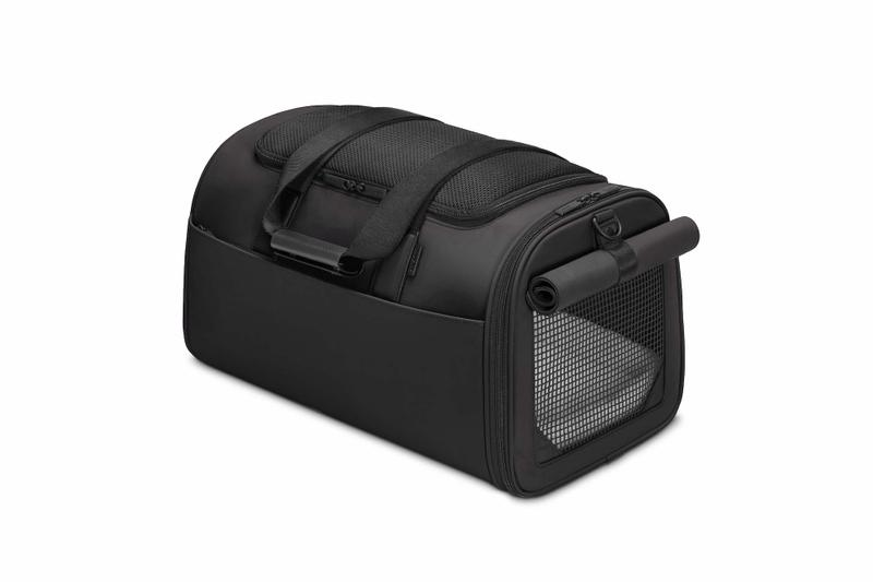 Away Launches New Pet Carry Travel Bag Black Teal