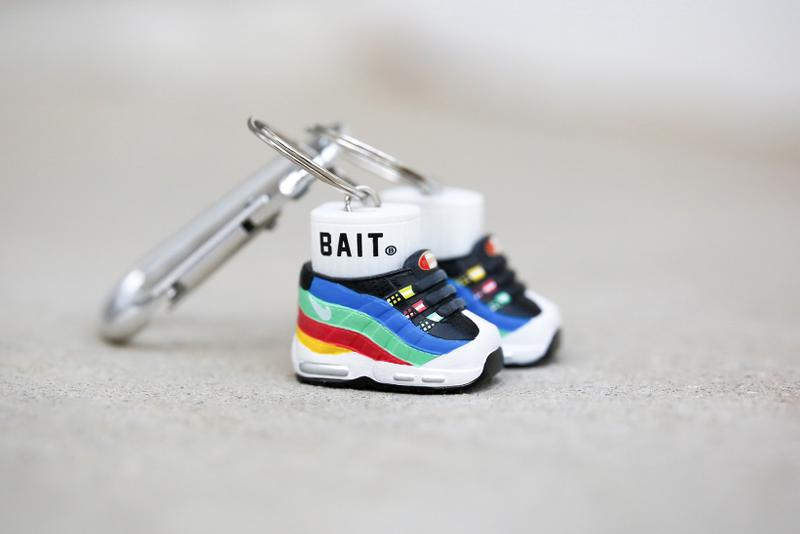 nike air max 95 mini keychain bait hidden message kokie sneakers accessories giveaway