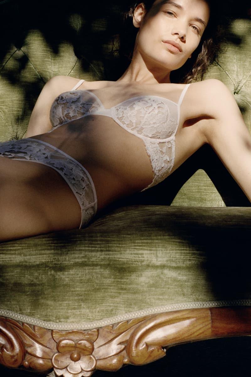 savage x fenty rihanna plus size bra underwear lingerie set model la perla