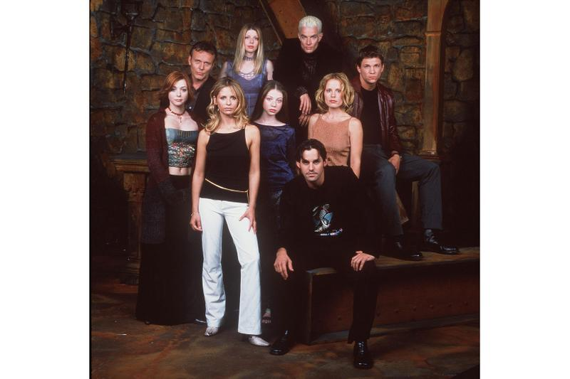 Buffy The Vampire Slayer Cast Sarah Michelle Gellar Alyson Hannigan Nicholas Brandon